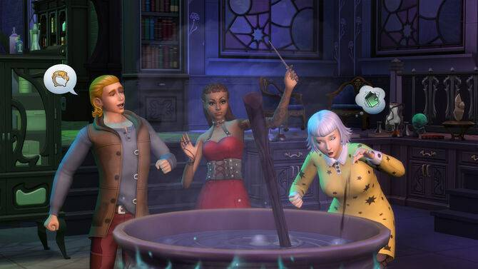 Article title about The Sims 4: Realm of Magic