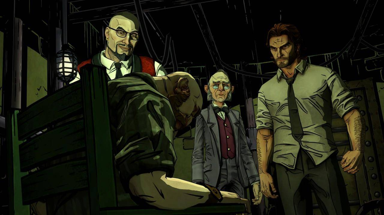 Article title about The Wolf Among Us