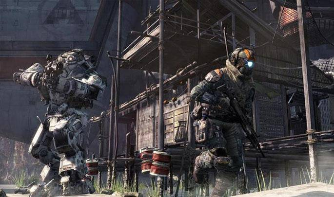 Article title about Titanfall
