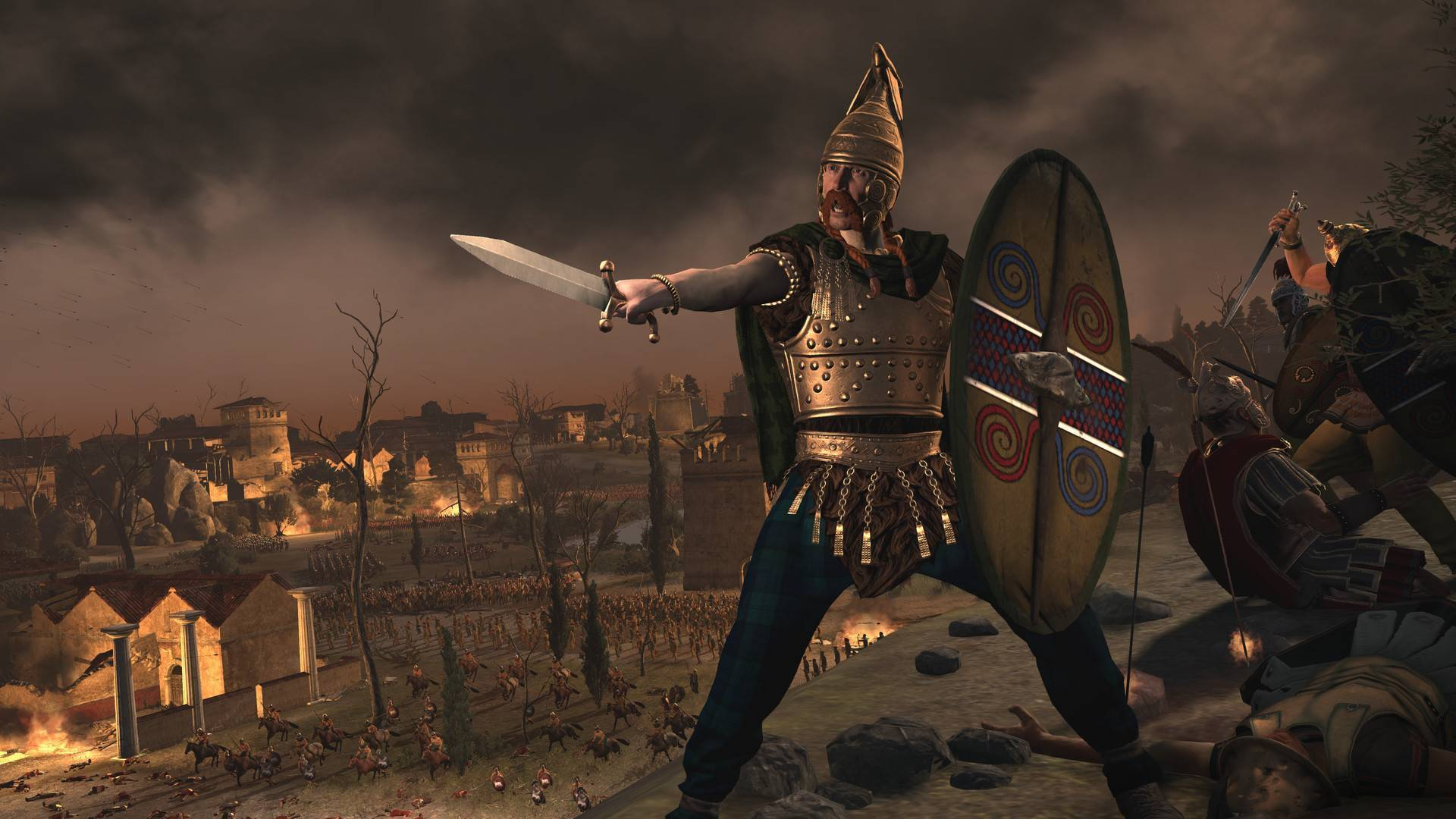 Article title about Total War: Rome II Rise of the Republic