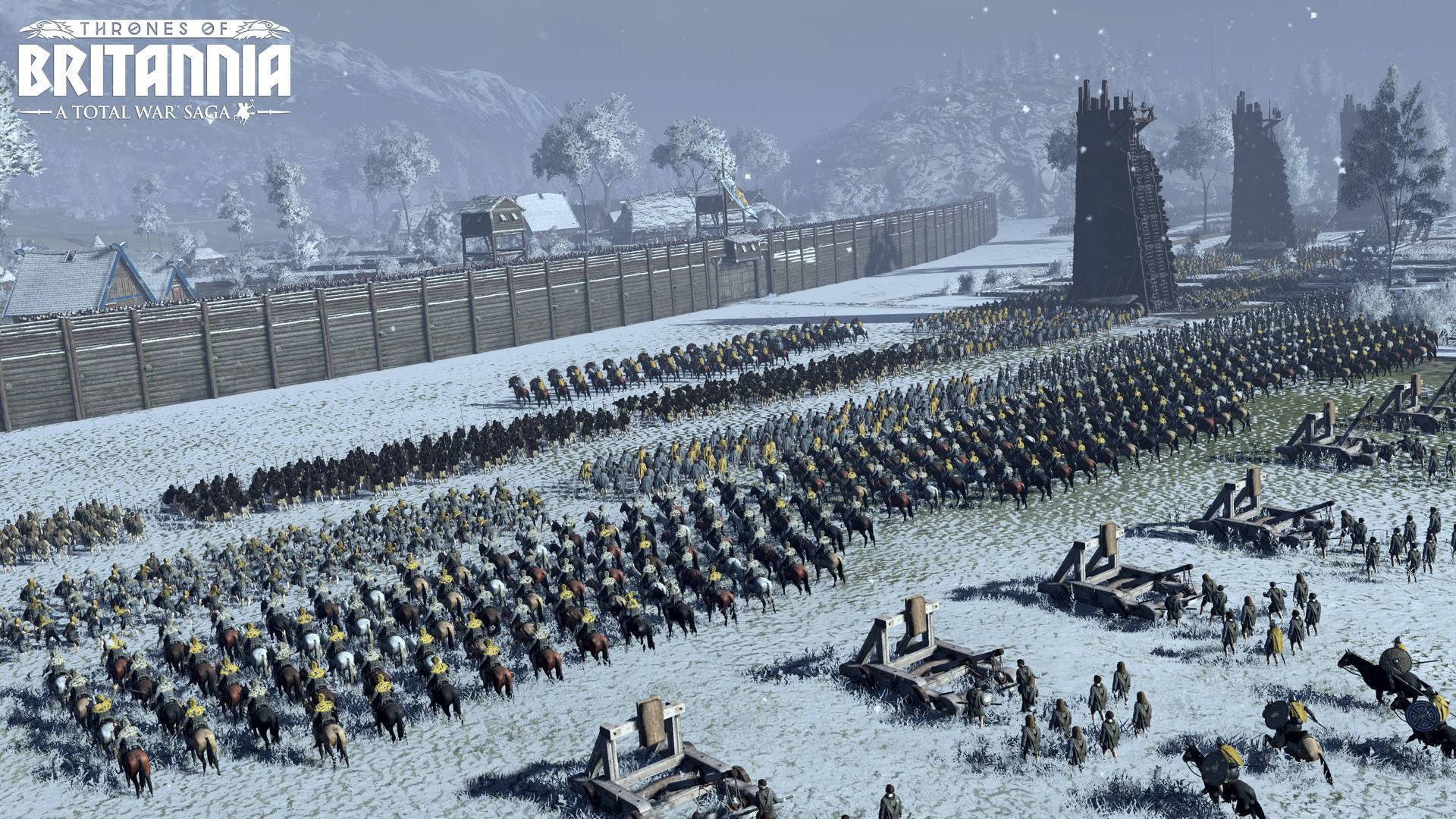 Article title about Total War Saga: Thrones of Britannia