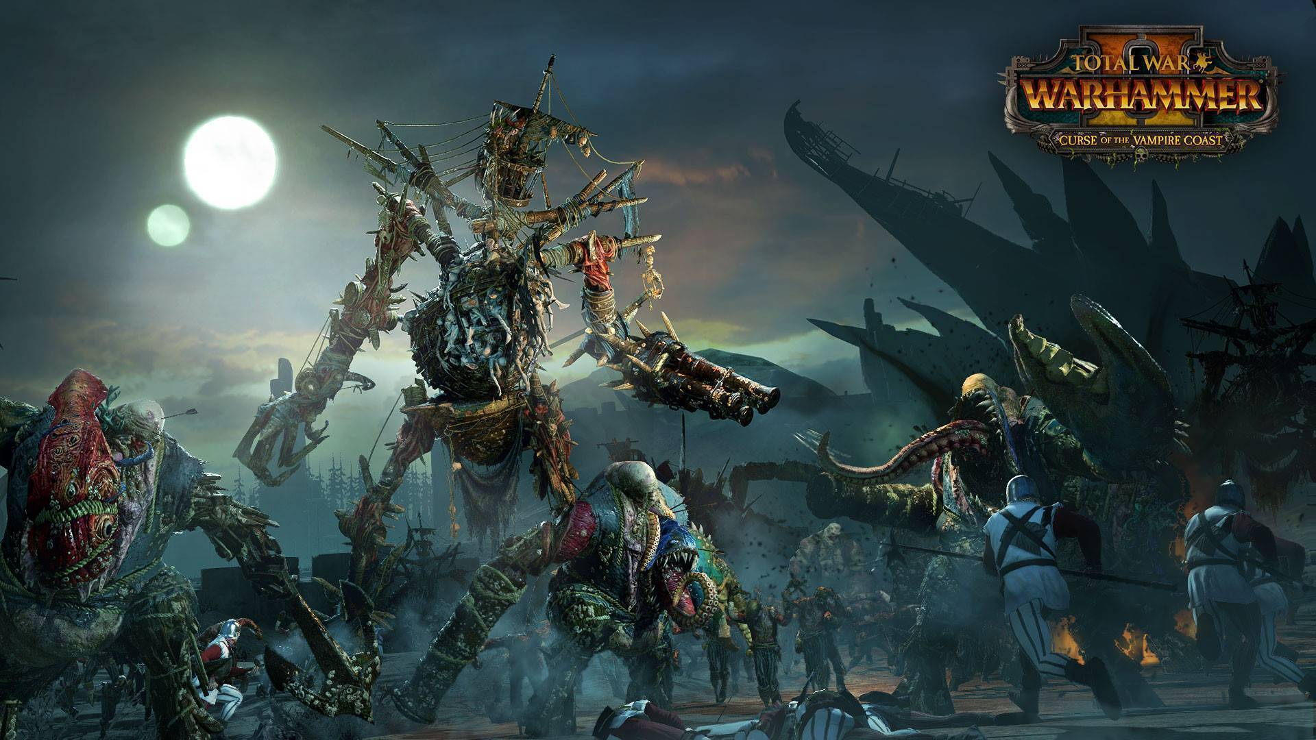 Article title about Total War: WARHAMMER II Curse of the Vampire Coast
