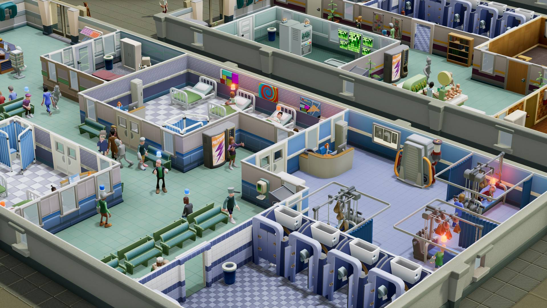 Article title about Two Point Hospital