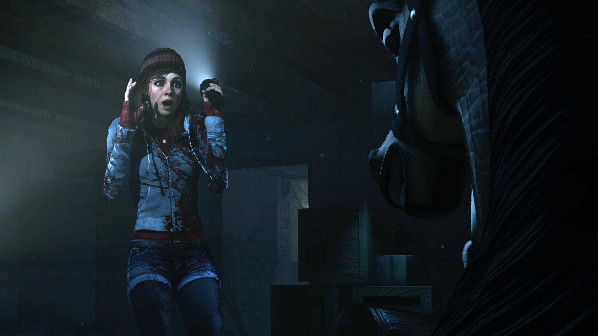 Article title about Until Dawn