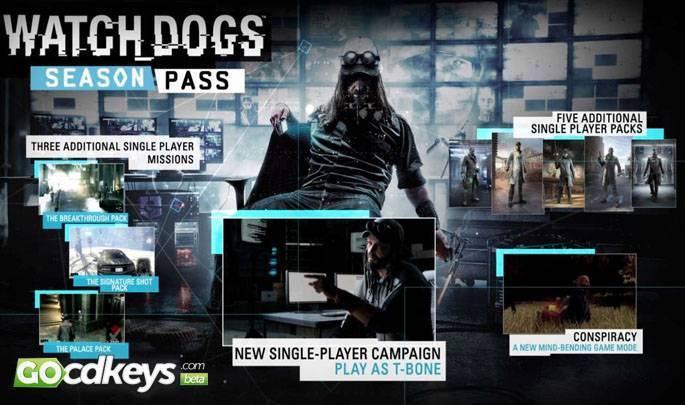 Watch Dogs  Cd Key Us