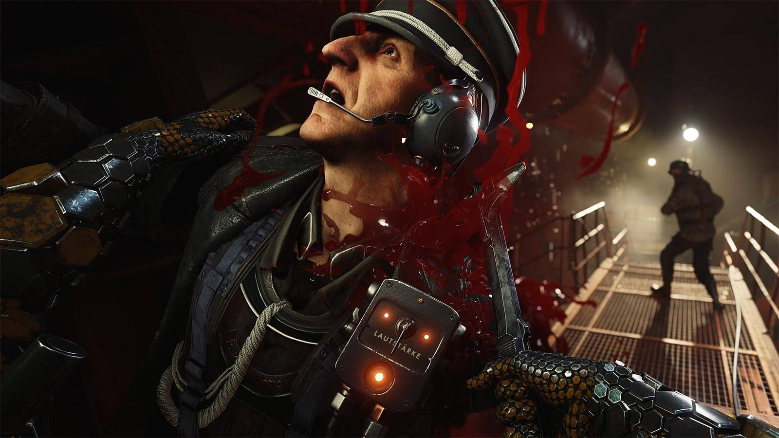 Article title about Wolfenstein II The New Colossus