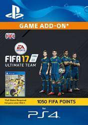 1050 FIFA 17 Ultimate Team Points UK