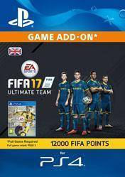 12000 FIFA 17 Ultimate Team Points UK