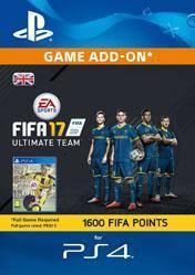 1600 FIFA 17 Ultimate Team Points UK