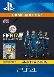 4600 FIFA 17 Ultimate Team Points UK