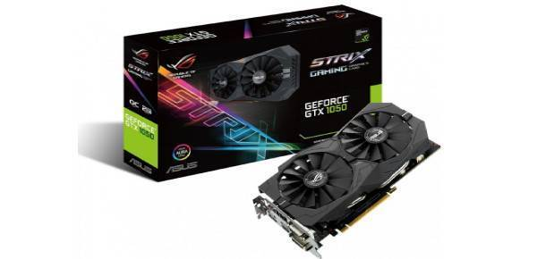 Asus ROG Strix GeForce GTX 1050 OC 2GB GDDR5