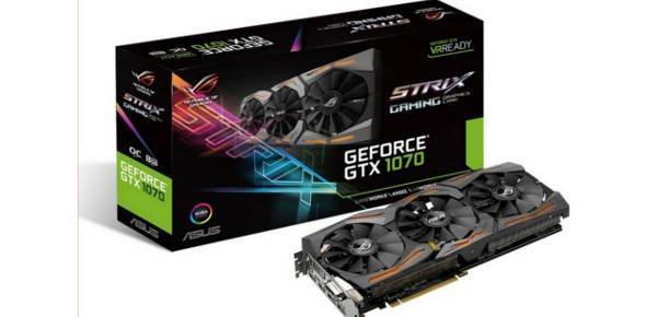 Buy Asus ROG Strix Geforce GTX 1070 Gaming OC 8GB GDDR5 Video graphic card - compare prices