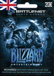 Battlenet 20 GBP Gift Card (UK) cd Key