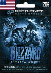 Battlenet 20 USD Gift Card (US) Cd Key