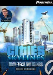 Cities Skylines Content Creator Pack High Tech Buildings