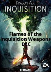 Dragon Age 3 Inquisition Flames of the Inquisition Weapons