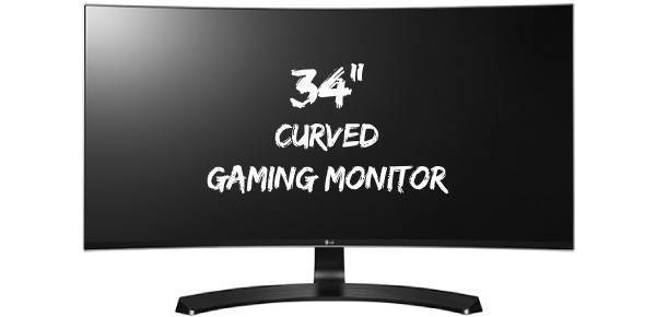 Gaming Monitors 34 inches Curved