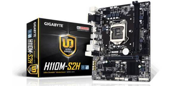 Buy Gigabyte GA-H110M-S2H Motherboard - compare prices
