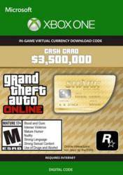 Grand Theft Auto Online $3500000 Whale Shark Cash Card