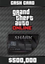 GTA Online Bull Shark Cash Card 500.000$
