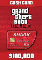 GTA Online Red Shark Cash Card 100.000$