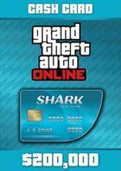 GTA Online Tiger Shark Cash Card 200.000$