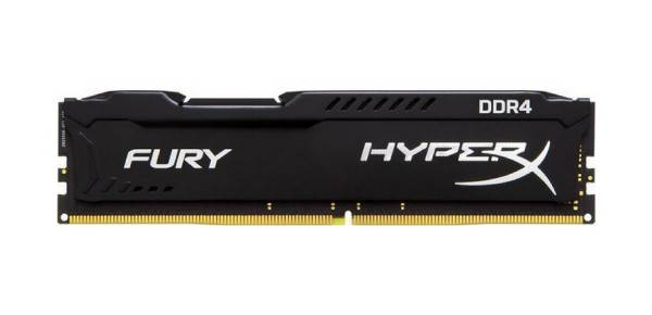 Kingston HyperX Fury Black DDR4 2400 PC4-19200 8GB CL15