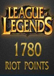 League of Legends 1780 Riot Points