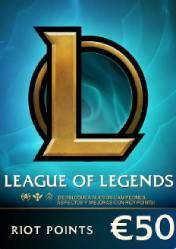 League of Legends 7200 Riot Points