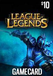 League of Legends RIOT Game Card 10$ US
