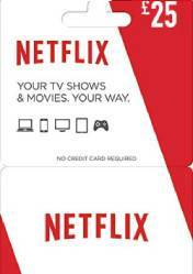 Netflix Gift Card 25 EU/US/UK