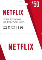 Netflix Gift Card 50 EU/US/UK