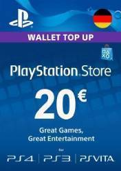 PlayStation Network Card 20 EUR DE