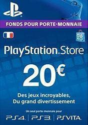 PlayStation Network Card 20 EUR FR