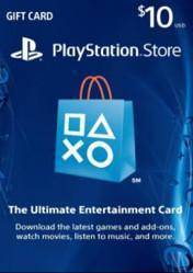 PlayStation Network Gift Card $10 US
