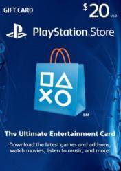 PlayStation Network Gift Card $20 US