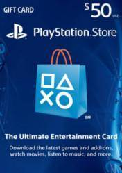 PlayStation Network Gift Card $50 US