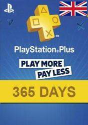 PlayStation Plus 365 days card UK