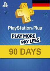 PlayStation Plus 90 days card DE