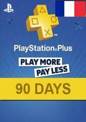 PlayStation Plus 90 days card FR