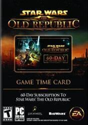 Star Wars: The Old Republic 60 Day Pre-Paid Time Card