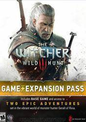 The Witcher 3 Wild Hunt Game + Expansion Pass Pack