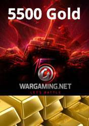 Wargaming 5500 Gold