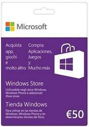 Windows Store Gift Card 50 Euro