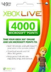 Xbox LIVE EU 4000 Points