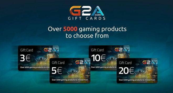 G2A Gift Card 20€ Giveaway