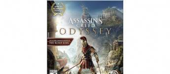 Article title about Assassins Creed Odyssey