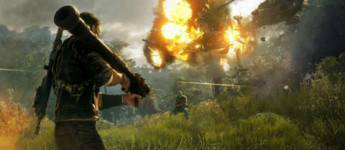 Article title about Just Cause 4