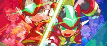 Article title about Mega Man Zero/ZX Legacy Collection