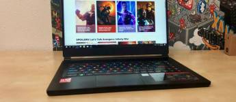 Article title about MSI GS65 Stealth Thin